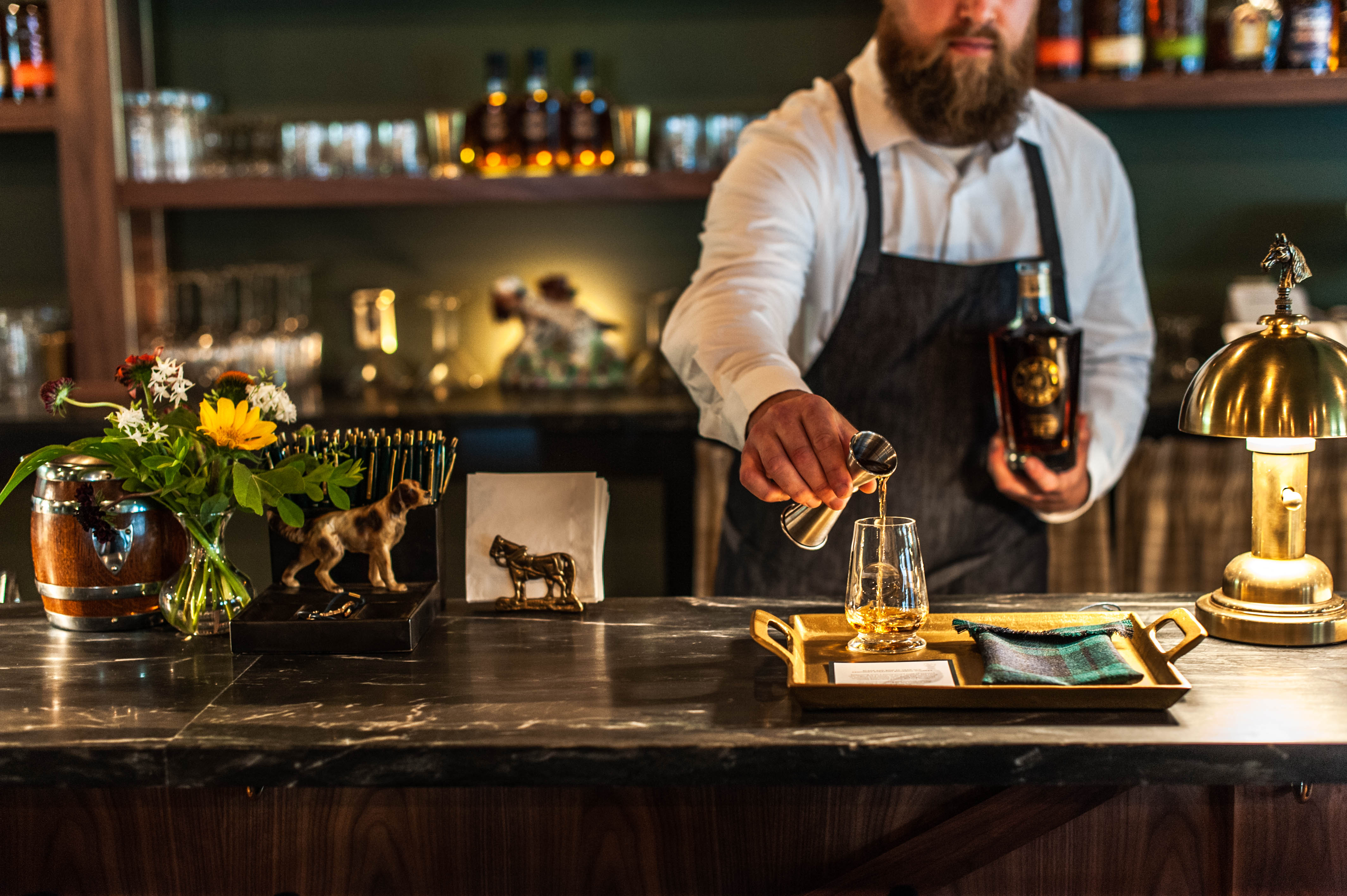 Stitzel-Weller Garden & Gun Club Bar